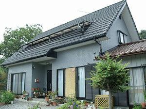 「色あせと変色がすすんだサイディング外壁を鮮やかなグレーに塗装(東京都武蔵野市)」のAfter写真