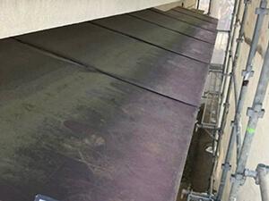 「20年塗装しなかった外壁を塗り替え!美しく生まれ変わったモルタル外壁(神奈川県海老名市)」のBefore写真