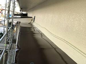 「20年塗装しなかった外壁を塗り替え!美しく生まれ変わったモルタル外壁(神奈川県海老名市)」のAfter写真