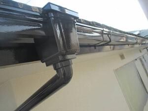 「汚れた外壁と付帯部分を塗装メンテナンス!清潔感を取り戻した事例(神奈川県三浦市)」のAfter写真