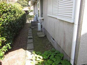 「南国リゾート風の住宅を塗り替え!おしゃれ度がアップした事例(神奈川県南足柄市)」のBefore写真