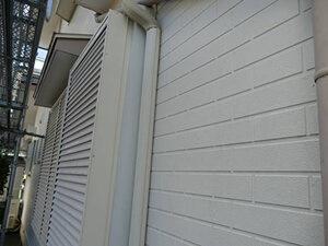 「コーキングの打ち替えも行い外壁だけではなく目地もきれいに(神奈川県厚木市)」のBefore写真