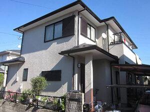 「築9年の住宅をシリコン塗料で外壁塗装!よりいっそう美しくなった住宅(神奈川県海老名市)」のAfter写真