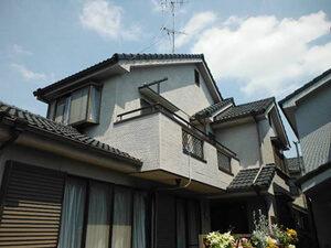 「劣化がひどくなる前に外壁塗装!少し早めのメンテナンスをした事例(東京都大田区)」のBefore写真