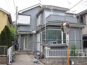 「ALC外壁をウレタン塗料で塗り替え!少し早めの外壁塗装で美観を維持(神奈川県綾瀬市)」のAfter写真
