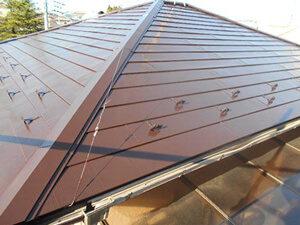 「築12年のトタン屋根を塗装メンテナンス!美しく変身した事例(東京都大田区)」のAfter写真