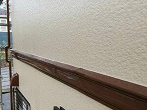 「モルタル風サイディング外壁を塗装工事!黒ずんだ外壁がピカピカに(神奈川県藤沢市)」のAfter写真