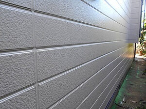 「チョーキング現象が発生した住宅を外壁塗装でピカピカに一新した事例(神奈川県厚木市)」のAfter写真