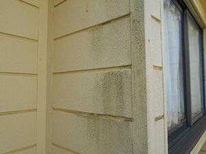 「築12年のサイディング外壁を塗装!新築のように生まれ変わった事例(神奈川県逗子市)」のBefore写真