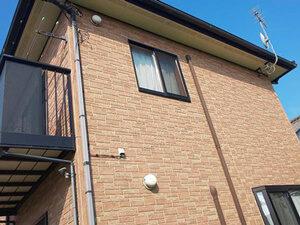 「築8年の住宅をクリアー塗装!サイディングのデザインを維持した事例(神奈川県海老名市)」のBefore写真