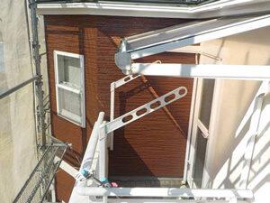 「サイディングとモルタル外壁の住宅を塗装できれいにした事例(東京都八王子市)」のAfter写真