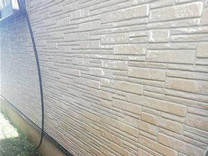 「早めのクリアー塗装で素敵なサイディング外壁を維持したI様邸(神奈川県綾瀬市)」のBefore写真