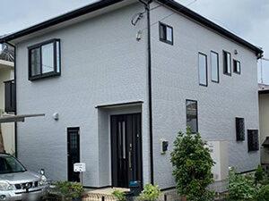 「グレーの塗料で外壁塗装!モダンでクールな雰囲気になったT様邸(神奈川県藤沢市)」のAfter写真