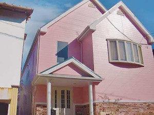 「ピンク色のK様邸を外壁塗装!メルヘンな住宅がピカピカに!(東京都稲城市)」のAfter写真