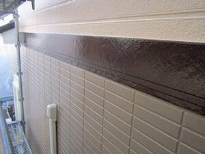 「サイディング外壁をツートンカラーで塗装!美観が復活した事例(東京都目黒区)」のAfter写真