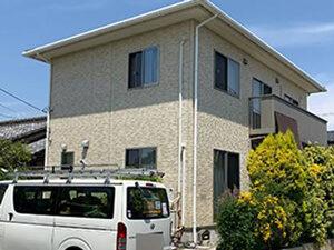 「築7年の住宅をクリアー塗装!より一層美しくなったK様邸(東京都多摩市)」のBefore写真