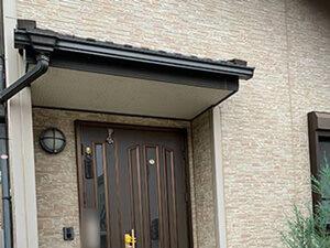 「レンガ風の洋風住宅をクリアー塗装!より一層おしゃれになった事例(東京都稲城市)」のBefore写真