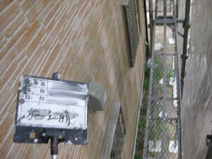 「コケを落としてクリアー塗装!ピカピカに生まれ変わったU様邸(東京都町田市)」のBefore写真