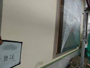 「築9年の洋風住宅を塗装工事!おしゃれ度がアップした事例(東京都大田区)」のBefore写真