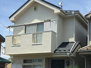 「全体的に黒ずんだ住宅を塗り替えメンテナンス!新築時の清潔感が復活(神奈川県藤沢市)」のAfter写真