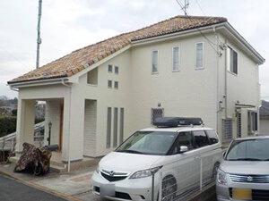 「おしゃれな洋風住宅をオフホワイトで塗装!清潔感と明るさがアップ!(神奈川県三浦市)」のAfter写真