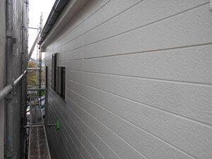 「表面が剥がれたサイディングボードの外壁をピカピカに塗り替え!(東京都多摩市)」のAfter写真