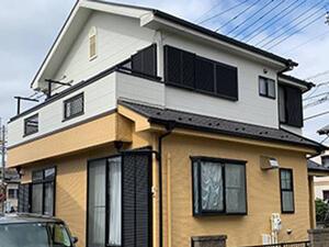 「少し早めの外壁塗装で美観を維持!フッ素塗料を使った施工事例(東京都羽村市)」のAfter写真