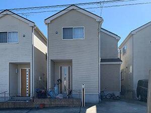 「サイディング外壁の塗装の流れを一挙紹介!マイホームがピカピカに(東京都稲城市)」のBefore写真