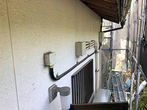「サイディングボードがひび割れていたF様邸が塗装でピカピカに!(東京都武蔵野市)」のBefore写真