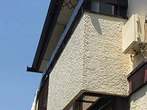 「2度目の外壁塗装を実施!K様邸のモルタル外壁の塗装事例(東京都調布市)」のBefore写真