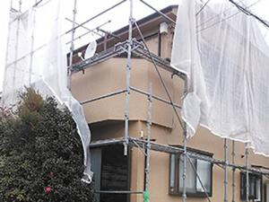 「外壁をベージュに塗り替え!軽やかで明るい住宅に変身したA様邸(東京都羽村市)」のAfter写真