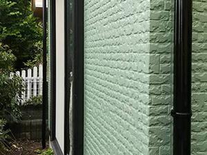 「サイディング外壁を淡いグリーンに塗り替え!軽やかで明るい住宅に(神奈川県藤沢市)」のAfter写真
