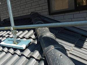 「外壁塗装と屋根塗装を同時施工!ピカピカに変身したM様邸(東京都武蔵野市)」のBefore写真