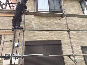 「築9年のT様邸を塗り替え工事!デザインも雰囲気も一新した事例(東京都福生市)」のBefore写真