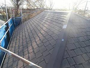 「築20年のスレート屋根を塗装メンテナンス!美観を整えた事例(神奈川県厚木市)」のBefore写真