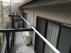 「コーキングが剥離・破断していたH様邸を補修と塗装でピカピカに!(神奈川県寒川町)」のBefore写真