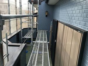 「築14年のサイディング外壁を塗装!ブルーへの塗り替えでイメチェン!(千葉県市川市)」のAfter写真