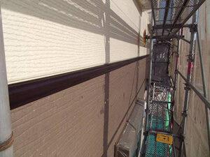 「築11年のT様邸をツートンカラー塗装!おしゃれな外観を取り戻した事例(千葉県市川市)」のAfter写真
