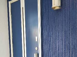 「S様邸の外壁塗装!ブルー×ホワイトのスタイリッシュな住宅に変身(千葉県市川市)」のAfter写真
