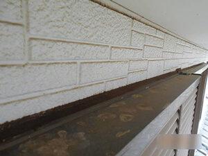 「築16年の住宅を外壁塗装!付帯部分までしっかり塗装したT様邸(千葉県市川市)」のBefore写真