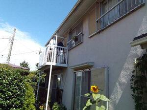 「グリーンの塗料で新築のようにきれいになったO様邸(千葉県船橋市)」のBefore写真