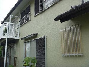 「グリーンの塗料で新築のようにきれいになったO様邸(千葉県船橋市)」のAfter写真