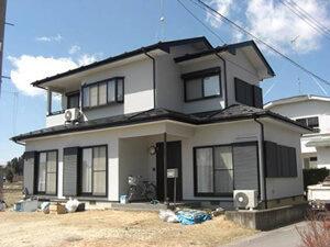 「外壁と屋根をまとめて塗装!モダンな外観がよりおしゃれになった事例(千葉県船橋市)」のAfter写真