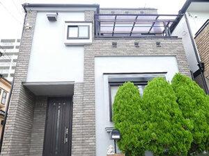 「モルタル外壁とベランダを塗装、屋根の重ね葺きも施工したK様邸!(神奈川県横浜市)」のAfter写真