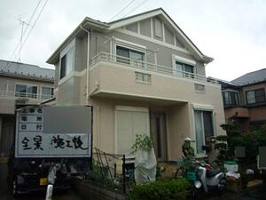 「デザインの異なるサイディングボードを別々の色で塗装したM様邸(神奈川県横浜市)」のAfter写真