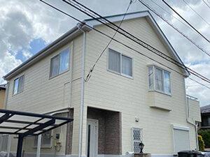 「外壁・屋根・バルコニーをまとめて塗装!丸ごときれいになったM様邸(千葉県松戸市)」のAfter写真