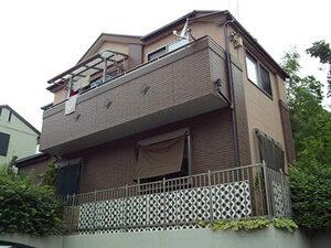 「築9年の住宅をクリアー塗装!サイディングのデザインを活かした事例(千葉県松戸市)」のBefore写真