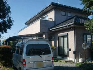 「レンガ風のサイディングを塗装!美観維持に成功したM様邸(千葉県市川市)」のBefore写真