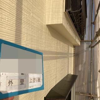 サイディングとモルタルの外壁を塗装!外壁の割れも補修しました!