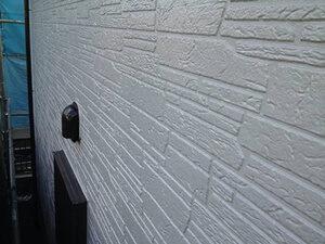 「石壁風サイディングを塗装!真っ白な外壁にイメチェンしたO様邸(千葉県船橋市)」のAfter写真